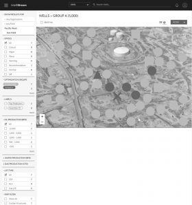 (Initial Wireframes - Multi Well Group Overview Page GIS View)